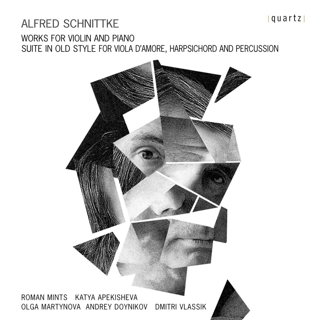 Alfred Schnittke Works for Violin and Piano | Recording | Roman Mints